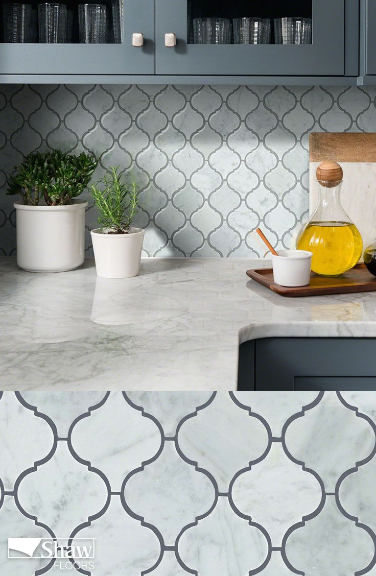 - Chateau Lantern Mosaic Kitchen Tiles Backsplash, Lantern Tile Backsplash,  Flooring