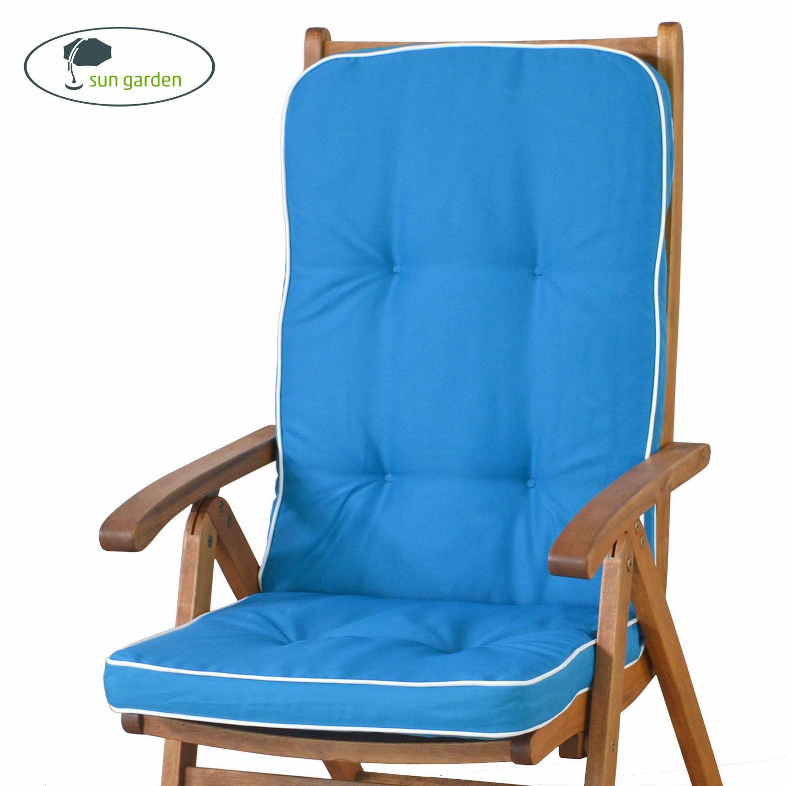 6 Auflagen Fur Hochlehner Sessel Hoch In Blau Gartenmobel Gartenpolster Kissensparen25 Com Sparen25 De Sparen25 Info Sessel Blau Blaue Gartenmobel Sessel