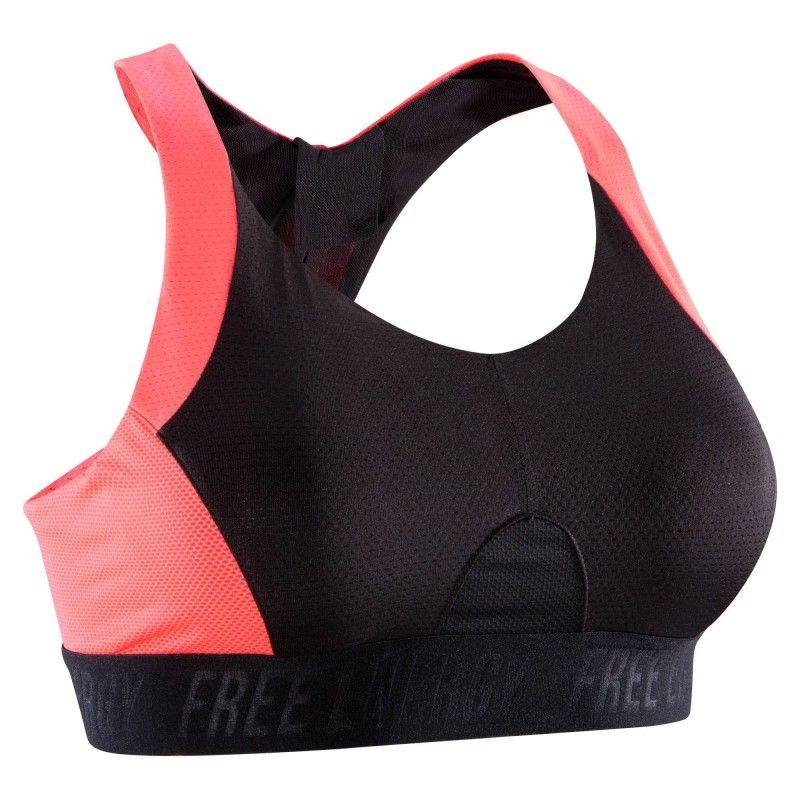 c8f08c445 Deportes Fitness Ropa interior y térmica deportiva de mujer - Top fitness  cardio 500 DOMYOS -