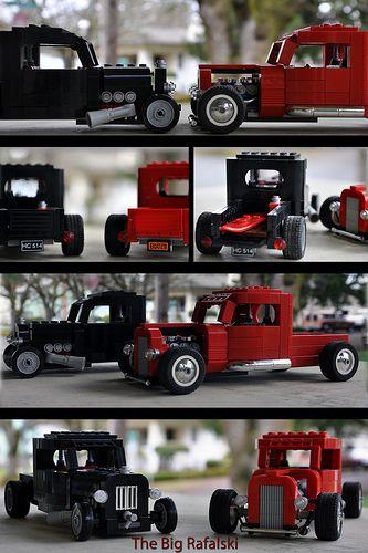 Lego Custom '36 Chevy Trucks | Flickr - Photo Sharing!