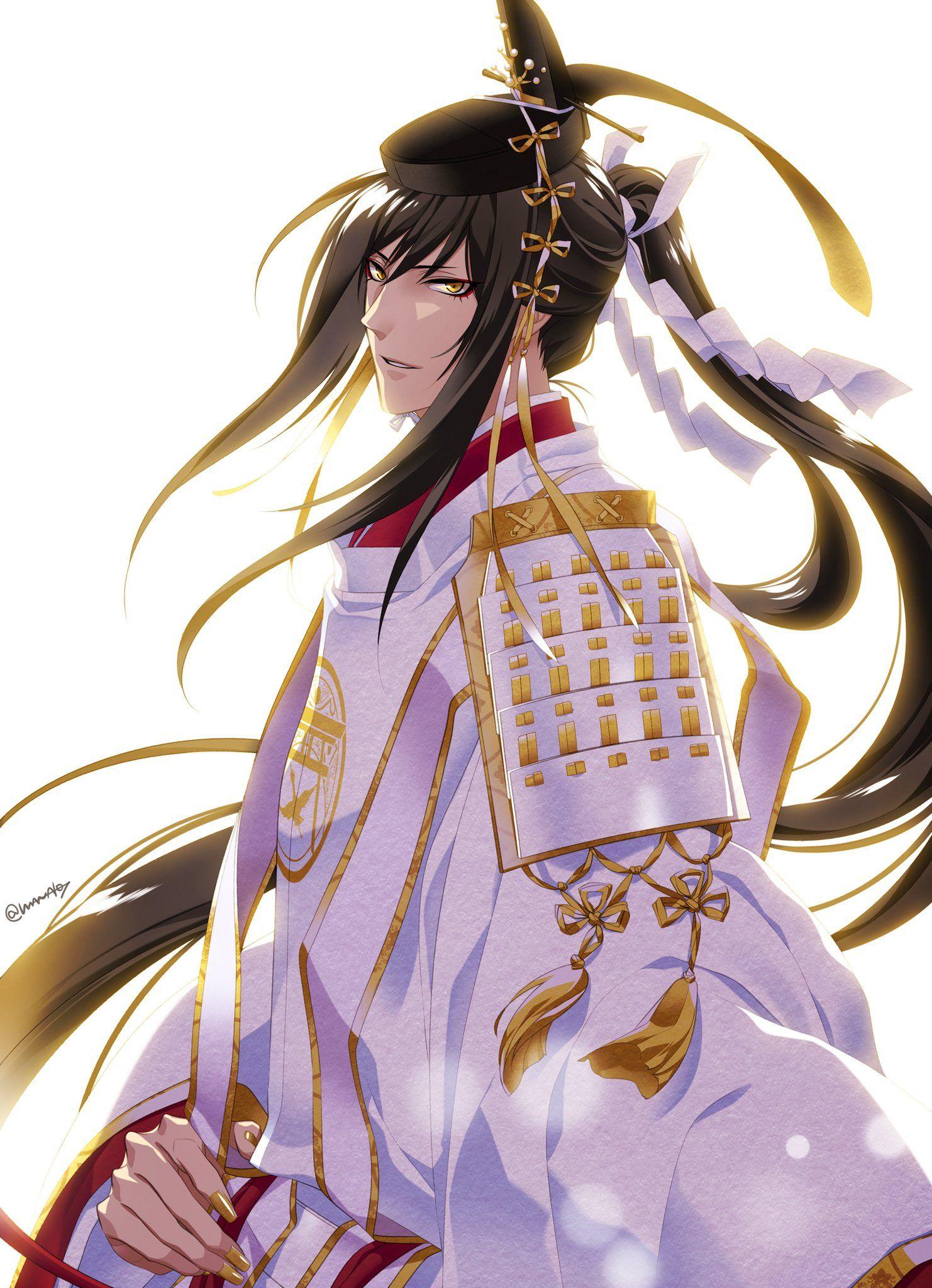 Touken Ranbu YAOI Doujinshi Rasetsunyo no Kogitsunemaru x Mikazuki NEW!