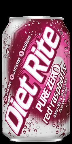 Diet Rite Red Raspberry Soda Diet Rite Cherry Cola Dr Pepper