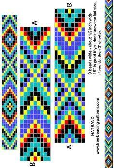 Free Native Bead Loom Patterns | Free Native American ...
