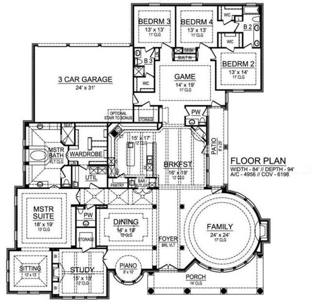 House Plan 015 878