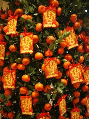 Glückssymbol Mandarine
