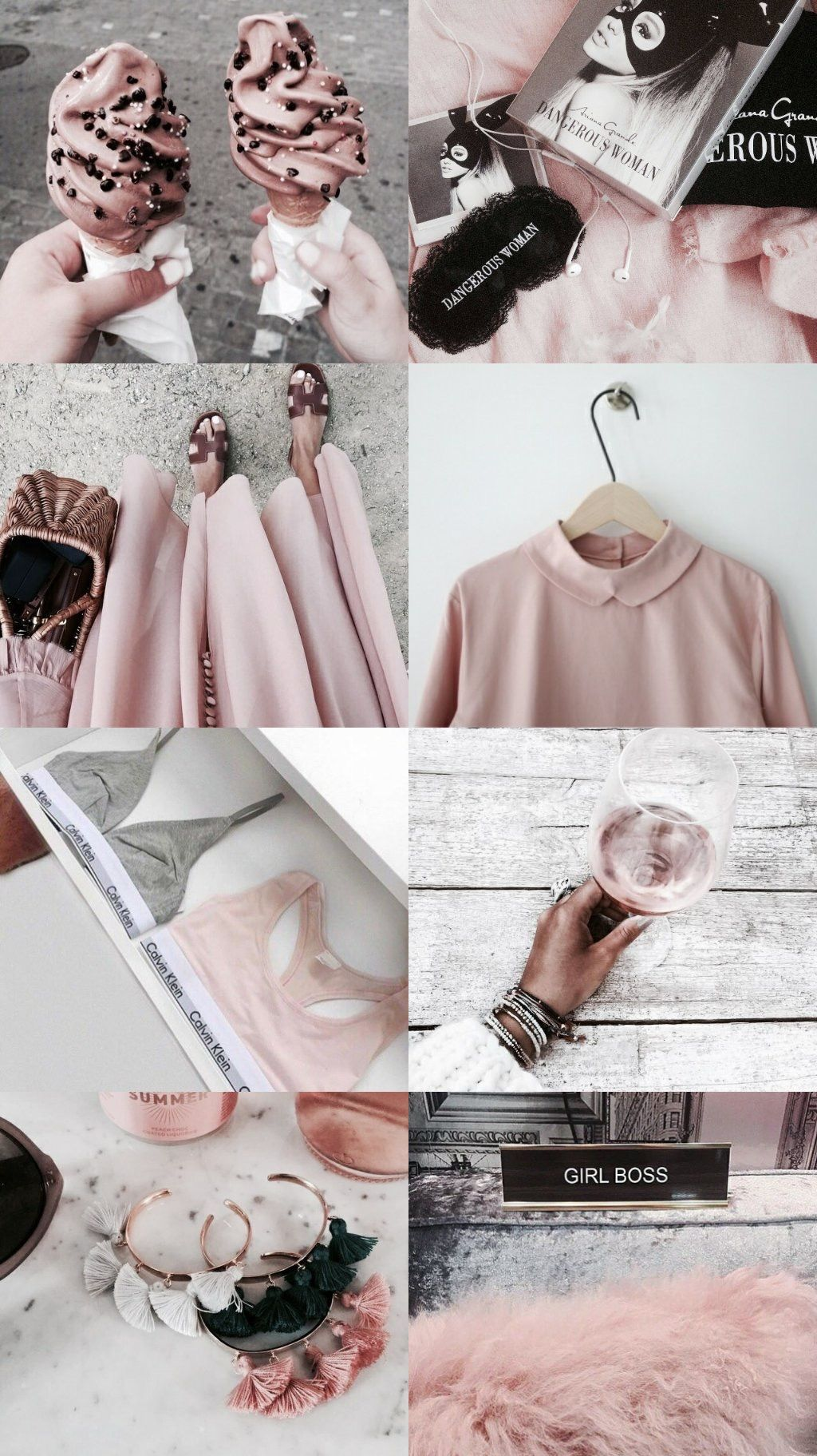 Lockscreen Ariana Random Pink Aesthetic Pastel Pink Aesthetic