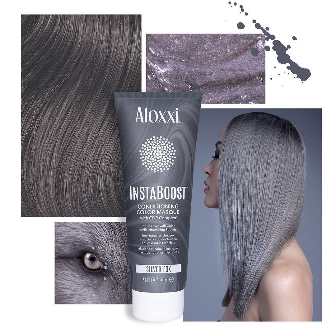 Silver Fox Instaboost Conditioning Color Masques Give You A Hint Of Hue To Brunettes A Bold Pop To Blondes Enjoy Up To 10 15 Wa Color Care Masque Silver Fox