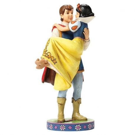 Mini figurine blanche neige little princess branca de neve disney figurines disney - Blanche neige et son prince ...