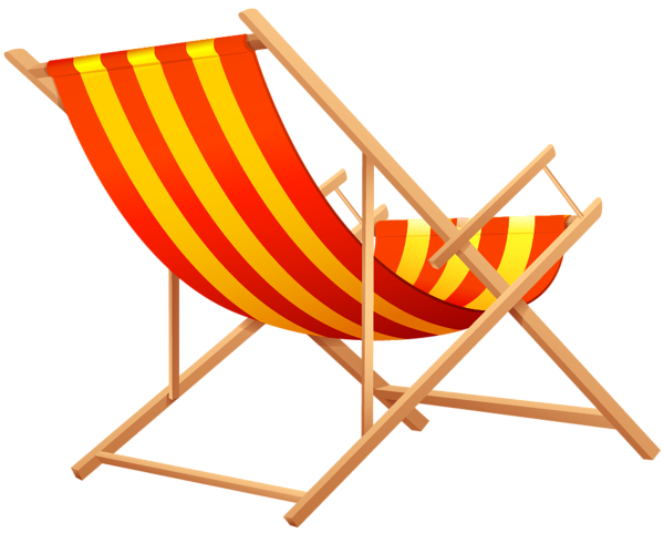 Transparent Beach Lounge Chair Png Clipart Picture Clip Art Art Impressions Stamps Beach Clipart