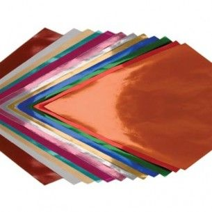 Gold Metallic Foil Paper 20 X 26 12 Sheets Metallic Paper Foil Paper Metallic Foil