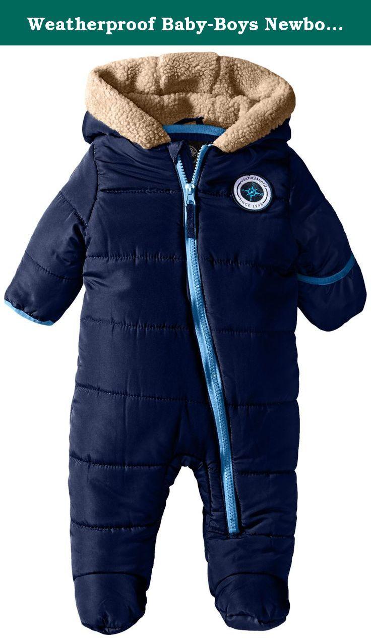 Weatherproof Baby Boys Newborn Bubble Polyfill Hooded Pram Navy 3 6 Months Hooded Polyfill Pram Carhartt Jacket Jackets Active Jacket [ 1270 x 736 Pixel ]