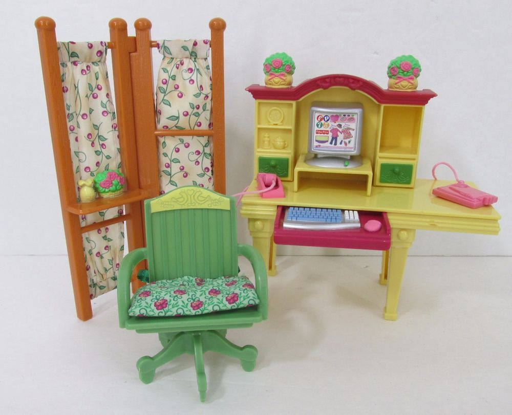Fisher price doll house furniture - Fisher Price Loving Family Dollhouse Furniture Nursery Baby Twins Crib Highchair Fisherprice Toys And Kids Pinterest Twin Cribs Baby Twins And