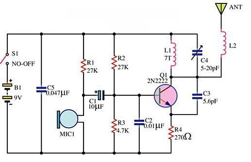 simple ir audio link electronic circuits and diagramelectronicssimple ir audio transmitter and receiver circuit electronics diy simple ir audio link electronic circuits and diagramelectronics