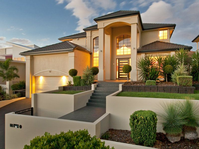photo of a house exterior design from a real australian house house facade photo 7375105 - House Exterior Designer