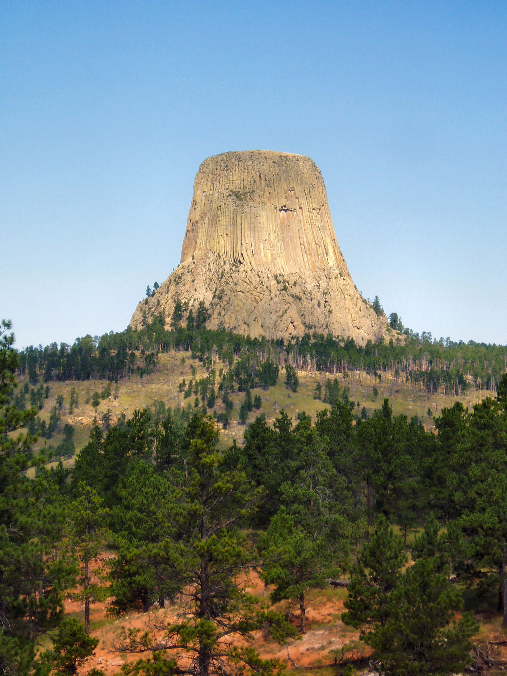 Devil's Tower - remembering Close Encounters