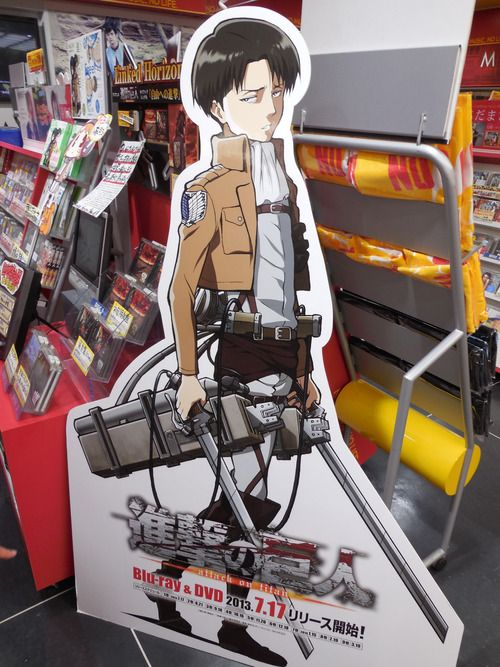 levi cardboard cutout yes