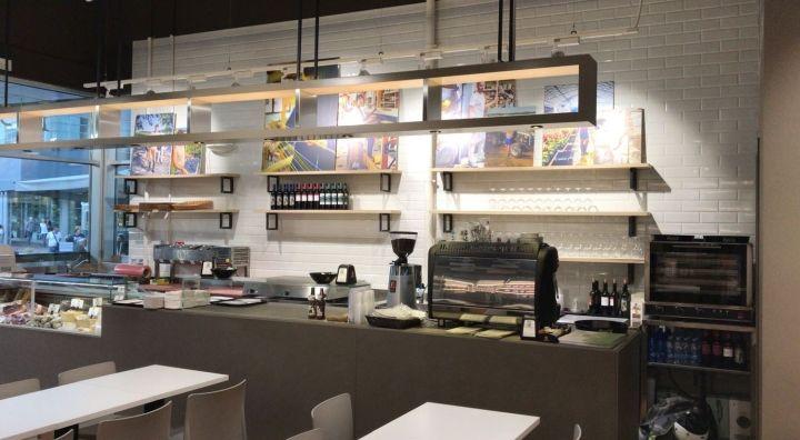 » SpazioSanpa restaurant by AFA Arredamenti, Milan - Italy