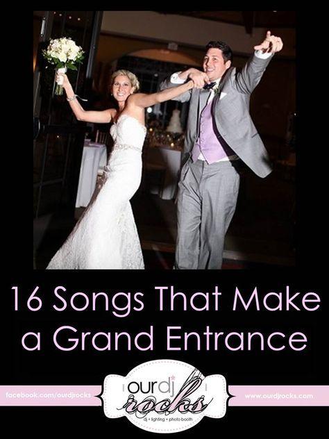 Wedding Songs, Grand Entrance Songs, Wedding Music, Reception ...
