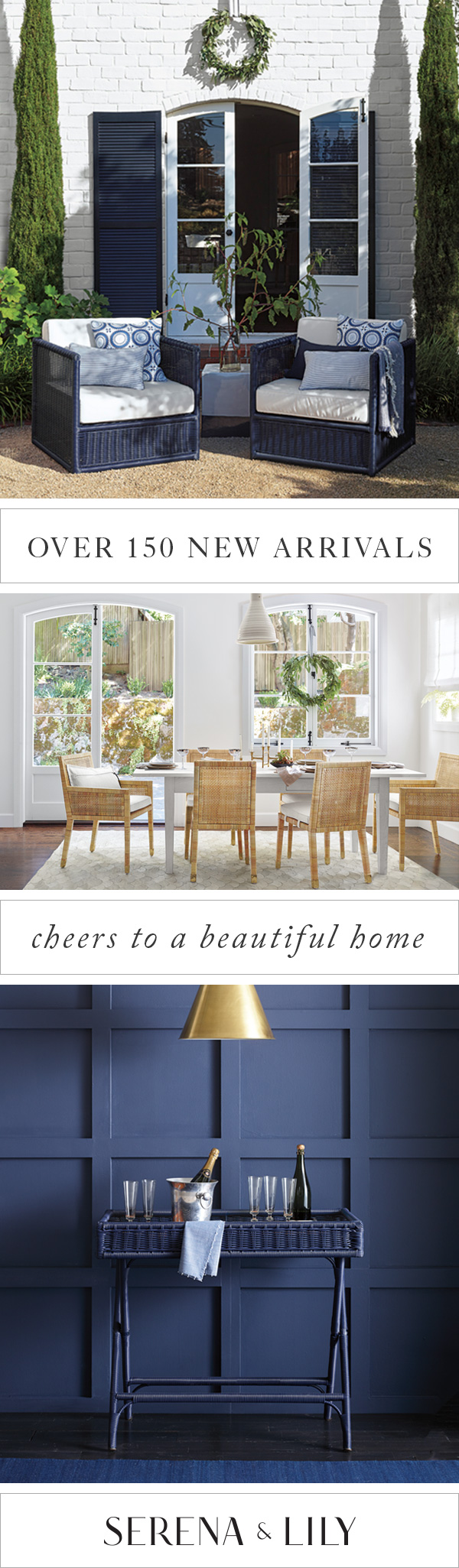 Home Makeover On Your Mind Find Decor Style With Over 150 New Arrivals At Serena And Lily