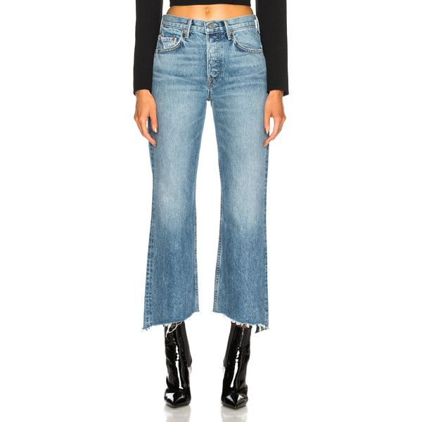 Dahl high-waisted flared jeans GRLFRND TKgIziP