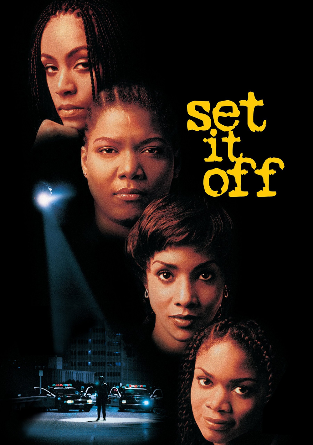 """Set It Off"" movie poster, one of our favorite movies that explores female relationships!"