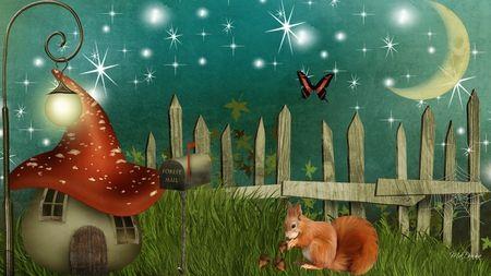 Wonderland Valley Desktop Nexus Wallpapers Wallpaper Whimsical Paintings Background Images Wallpapers