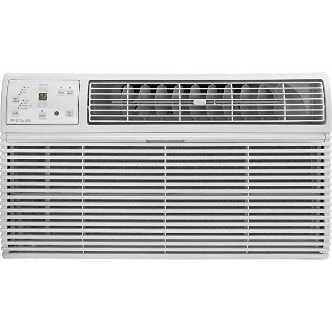 Frigidaire Ffth1022r2 10000 Btu 230 Volt Through The Wall Air Conditioner With 10600 Btu Supplemental With Images Room Air Conditioner Air Conditioner Wall Air Conditioner