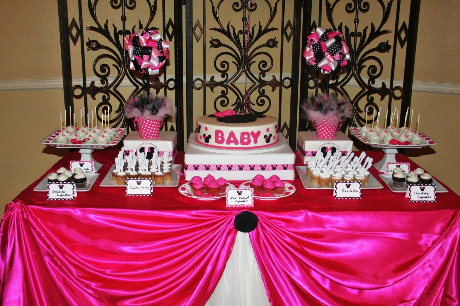 carousel beautiful minnie mouse baby shower minnie mouse baby shower
