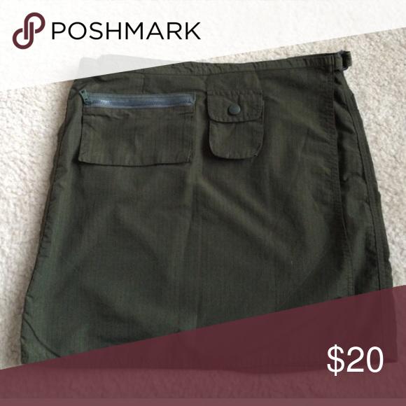 Green Esprit utility skirt Green Esprit utility skirt • Sz 7 Esprit Skirts