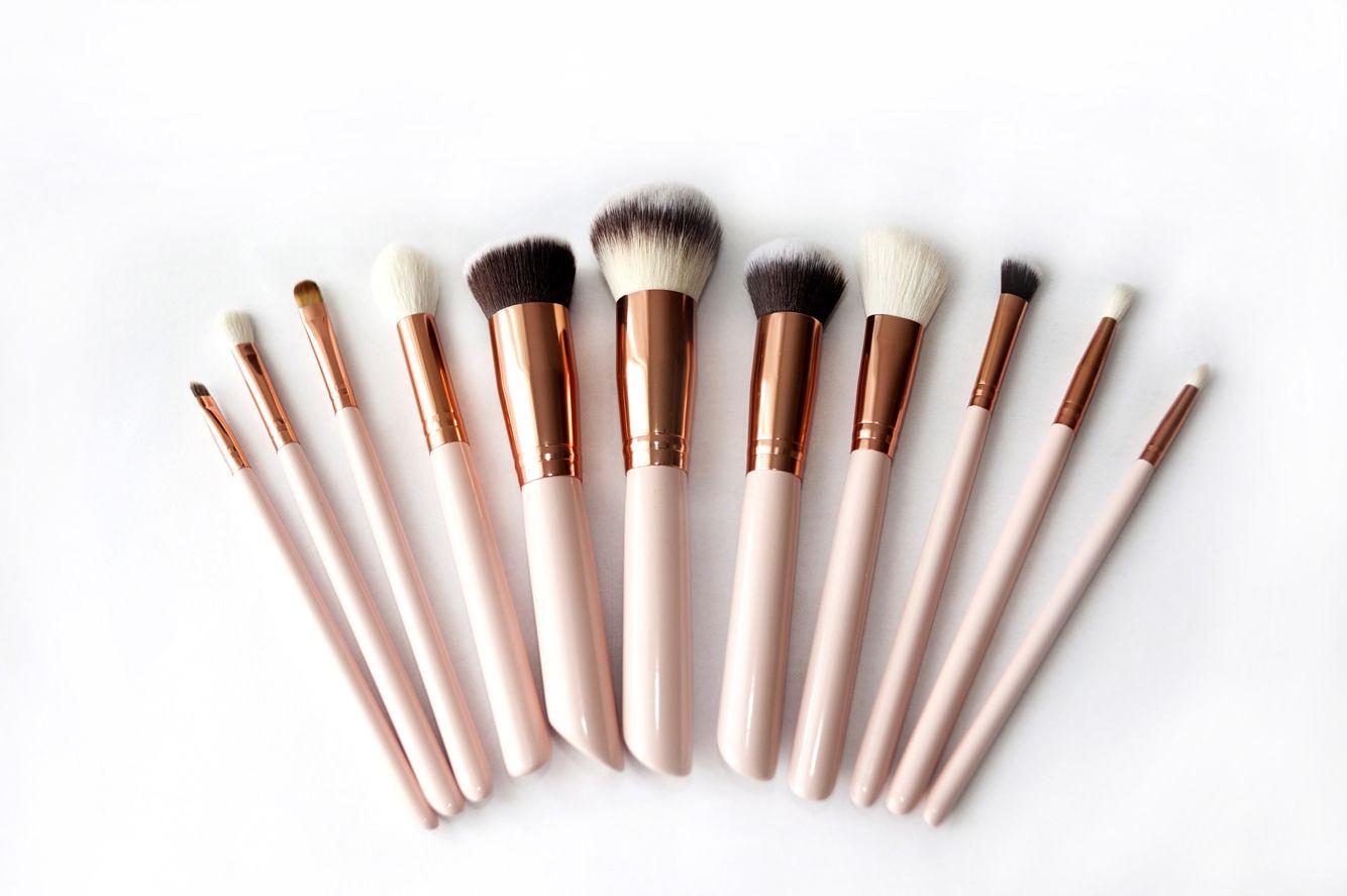 Xbravenewworldx Rose Gold Brushes Makeup Pictures Makeup
