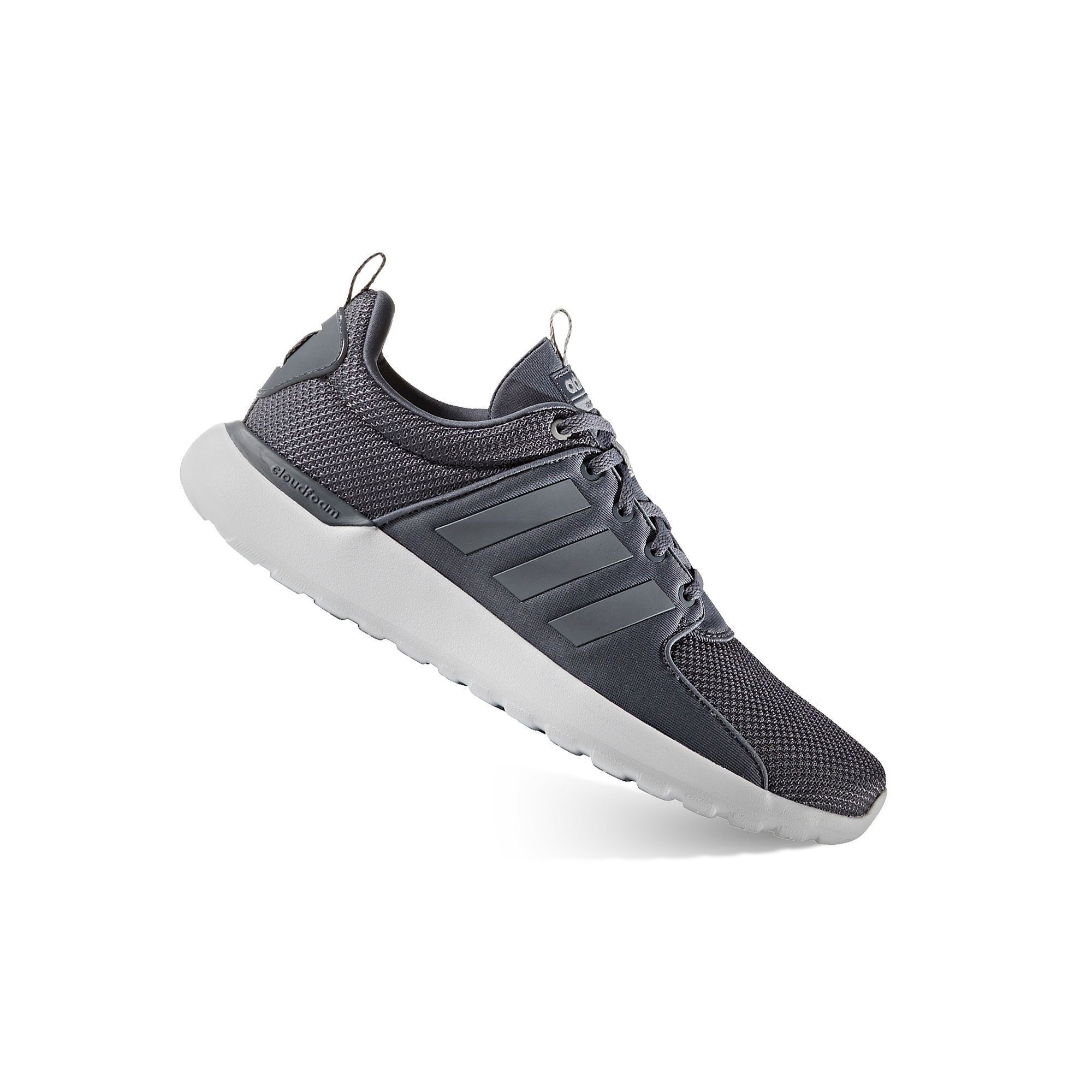 Give your casual look athletic appeal with these men\u0027s Lite Racer shoes  from adidas.