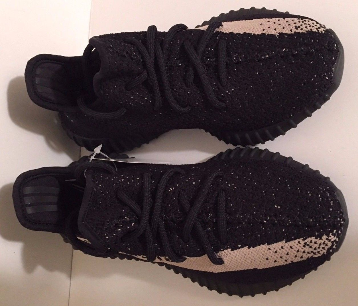 ADIDAS YEEZY 350 V2 Boost Low SPLY Kanye West Black White Oreo BY1604 IN HAND