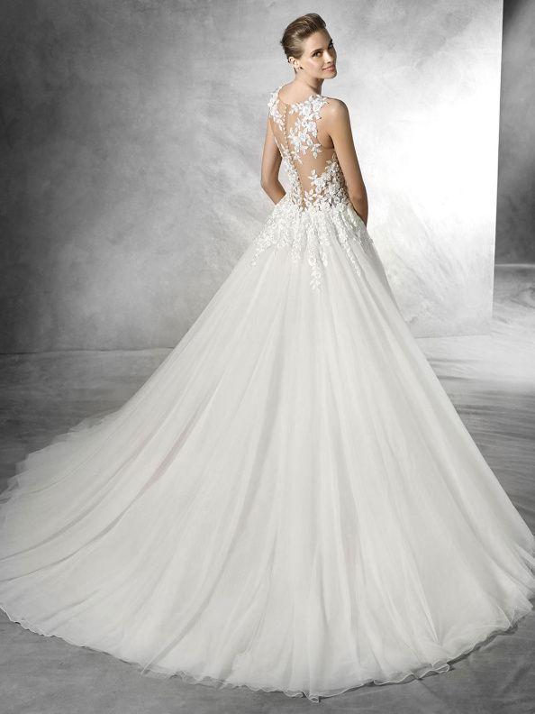 679e054b5f6 Svatební šaty Pronovias Taciana 2016