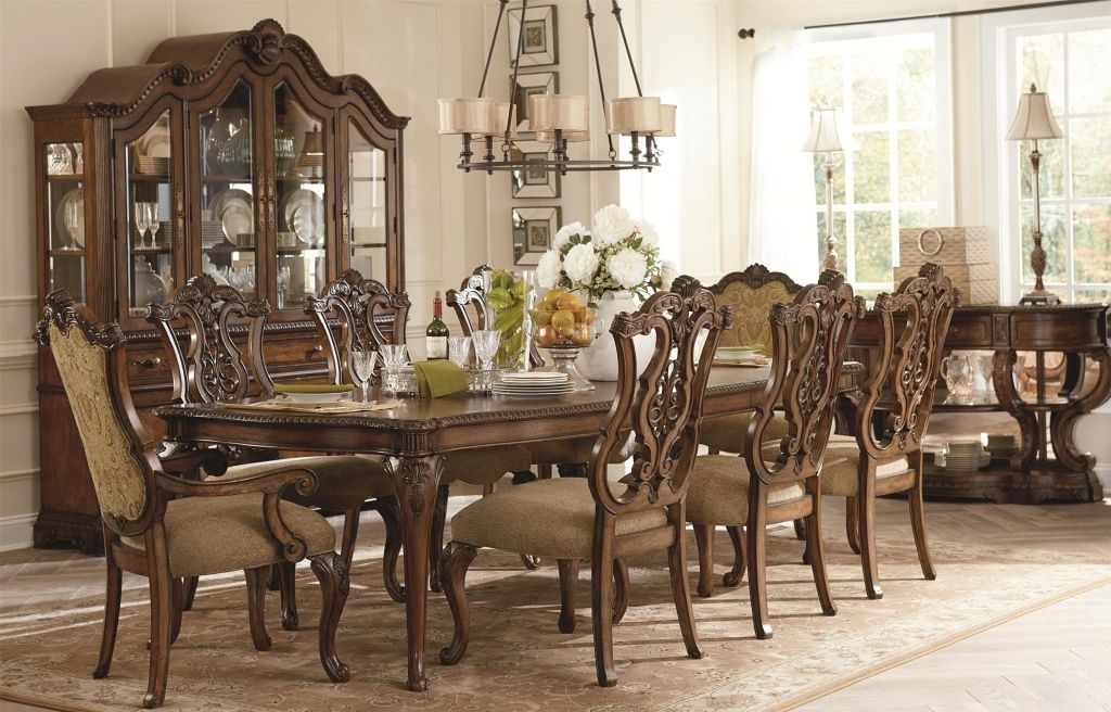 Classic Dining Room Luxury Interior Design Classic Dining Room