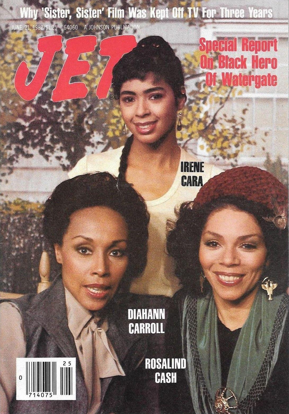 Jet Irene Cara Diahann Carroll Rosalind Cash June 1982