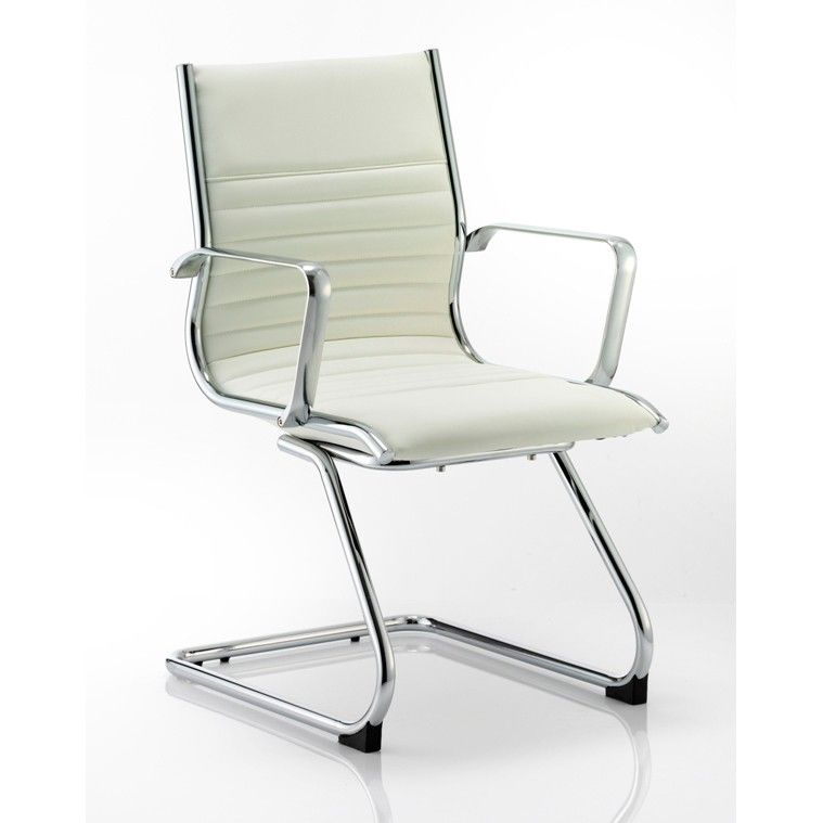 Leather Meeting Room Chair U2013 Ivory White