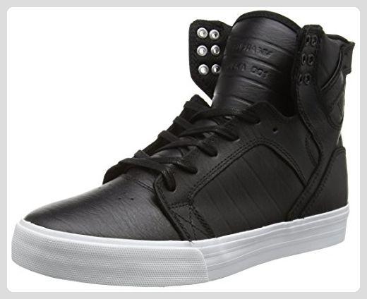 Supra Skytop, Sneakers Hautes Mixte Adulte, Noir (Black/White), 45 EU (10 UK)