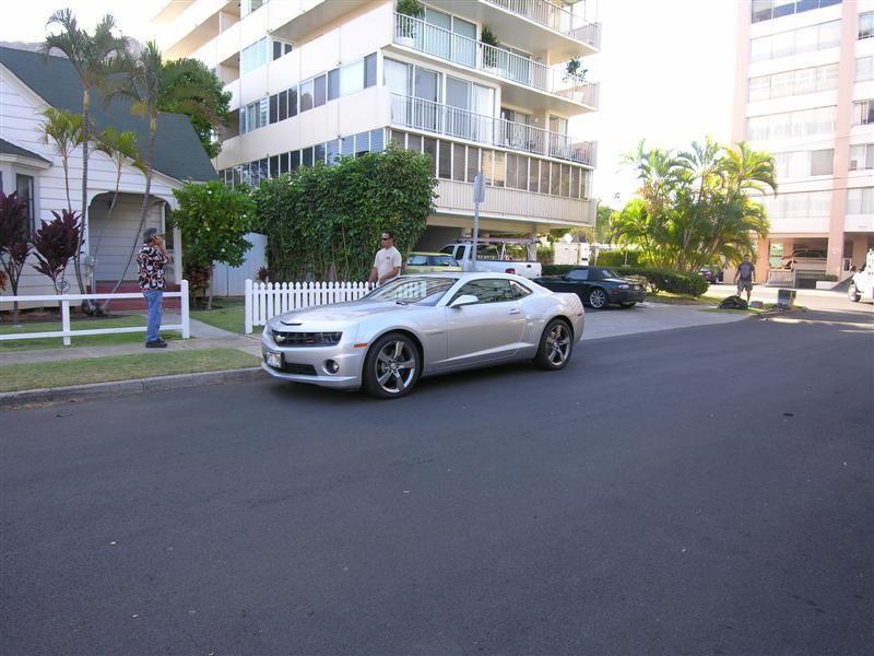 Danno S Chevy Camaro The Camera Car The Hawaii License