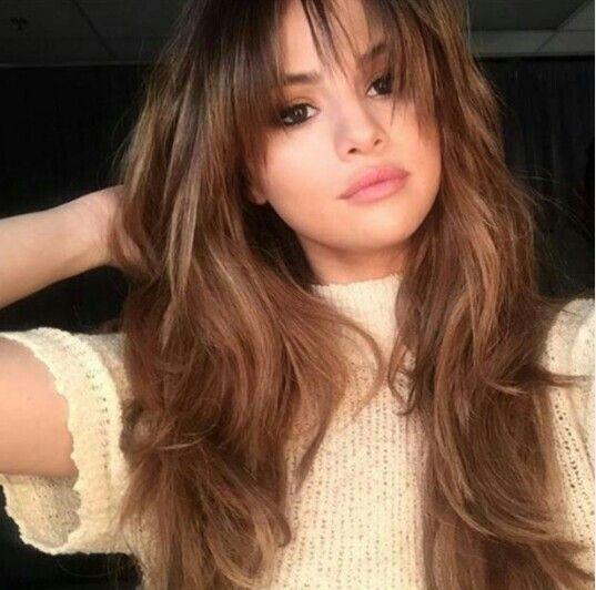Sariitaboniita Selena Gomez Hair Hair Styles Haircuts With Bangs