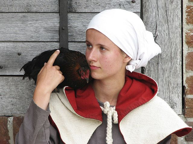 what is it with chicken and girls? by hans s, via Flickr