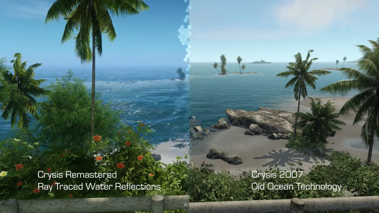 Crysis Remastered Can Run In 8k If Your Pc Can Handle It Engadget Water Reflections Release Date Can Run