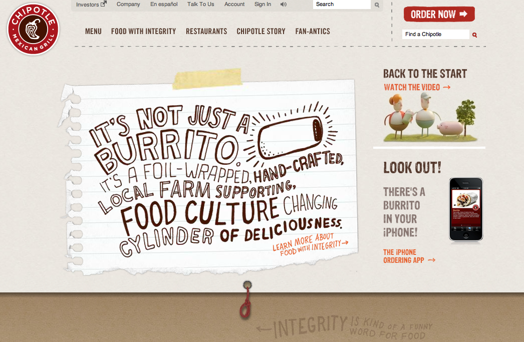 Chipotle Menu design, Restaurant menu design, Chipotle