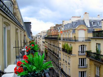 This Is The Lovely View We Had From Our Hotel Balcony In Paris.