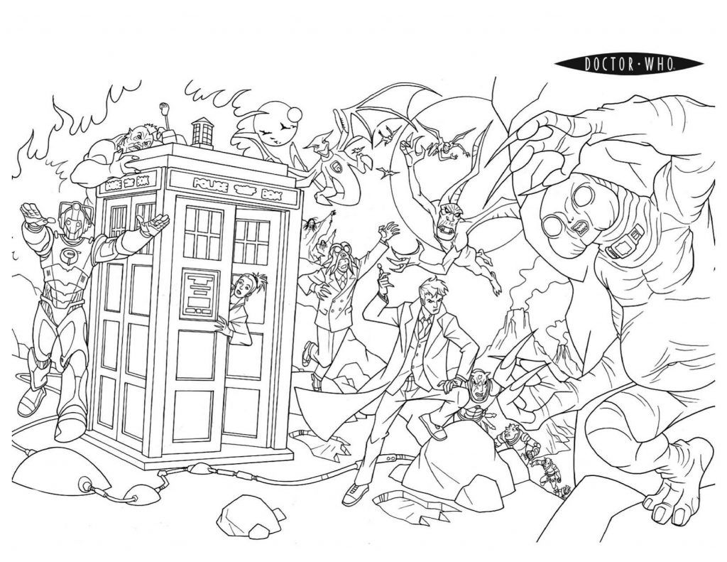 Doctor Who Coloring Pages Best Coloring Pages For Kids Coloring Pages Coloring Books Colouring Pages