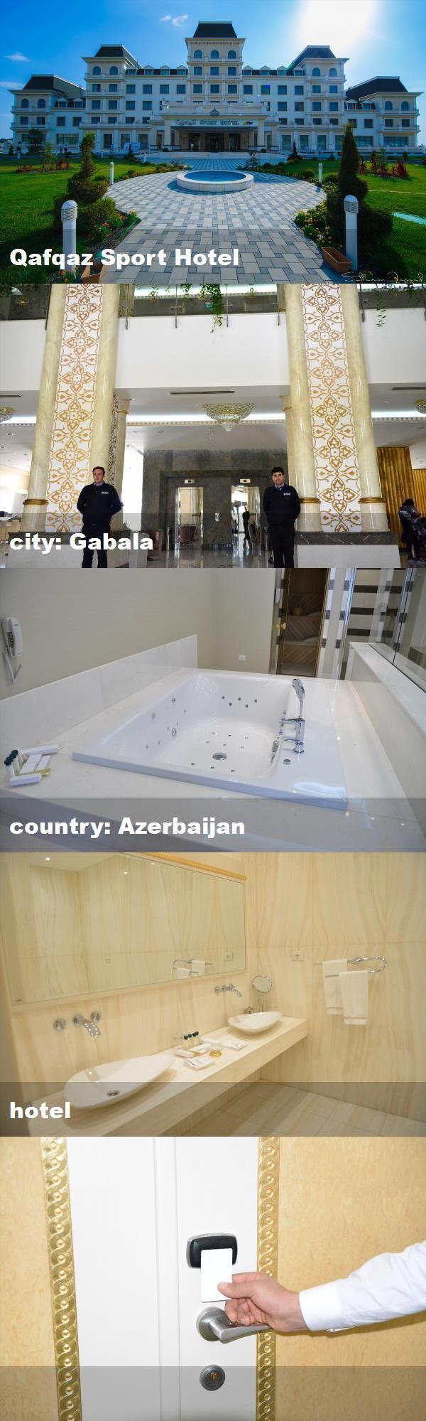 Qafqaz Sport Hotel City Gabala Country Azerbaijan Hotel Hotel Indoor Pool Country