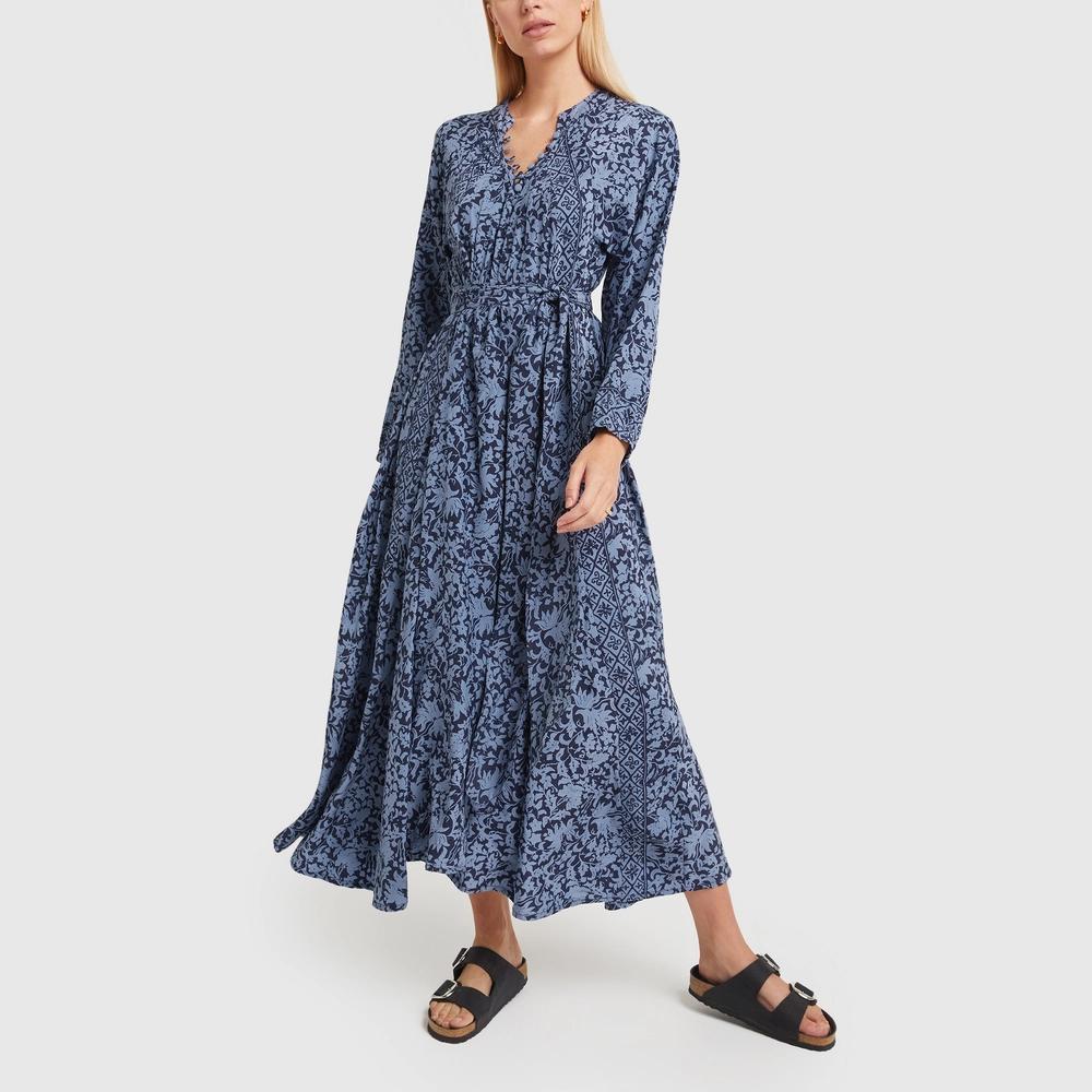Fiore Maxi Dress With Sash Natalie Martin Goop Shop Maxi Dress Daytime Dresses Flowy Dress [ 1000 x 1000 Pixel ]
