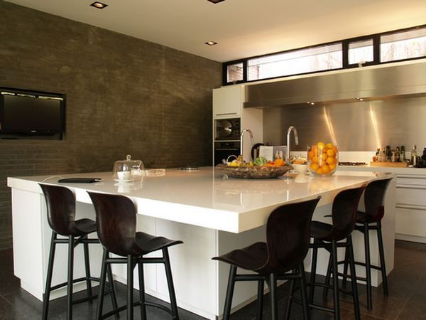 60 Great Bar Stool Ideas How To Pick The Perfect Design Custom Kitchen Island Modern Kitchen Room Kitchen Island With Seating