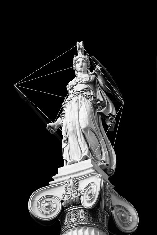Xriller Athena Estatuas Griegas Fondo De Arte Figuras Griegas