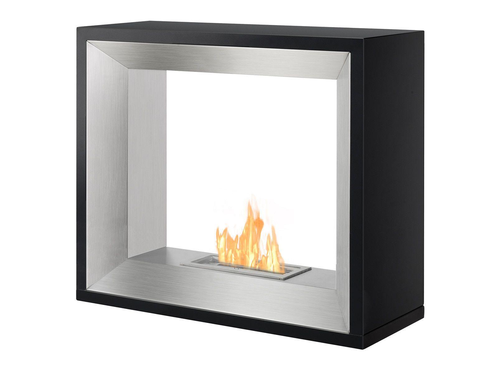 tempo freestanding ventless ethanol fireplace ethanol fireplace