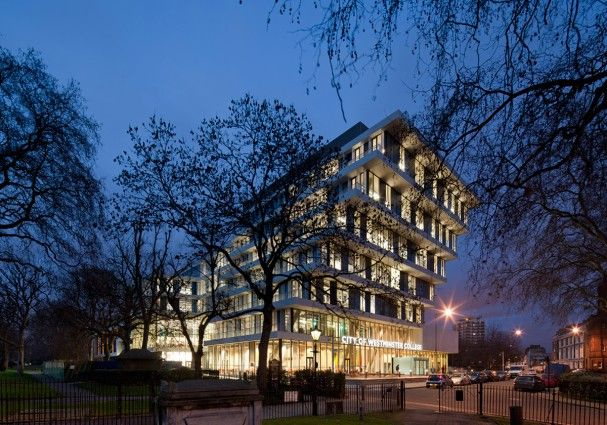 City Of Westminster College In London By Schmidt Hammer Lassen Architects City Of Westminster College Architecture Company Architecture
